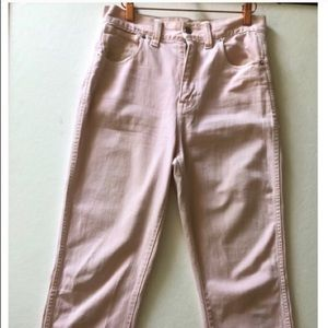 Madewell Perfect Vintage Jeans in Blush